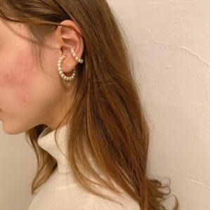 pearlhoop ear cuff
