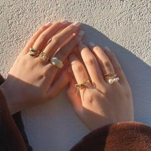 ribbon aroma ringset