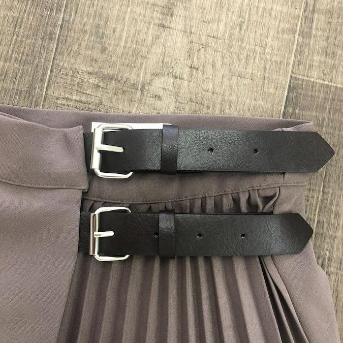 belt assyme pleats sk