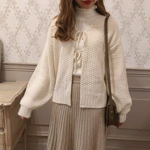 2way ribbon knit
