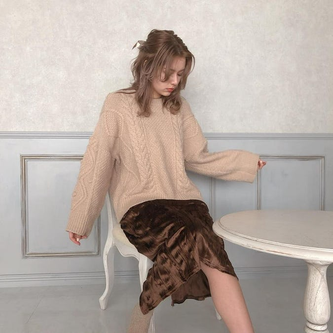 natural nuance knit-0