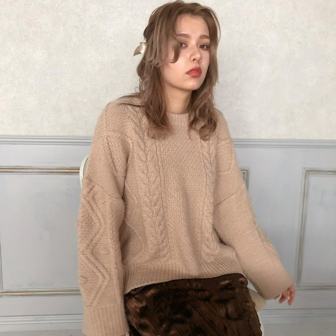 natural nuance knit