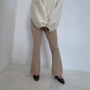 flare long pants