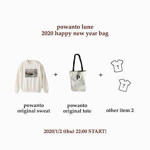 2020 happy new year bag