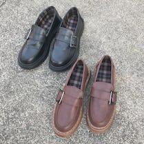 side belt loafer