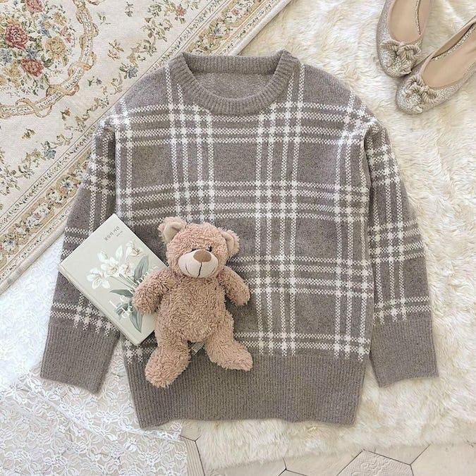 girly check knit-0