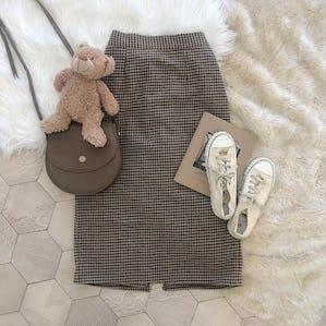 brown check sk