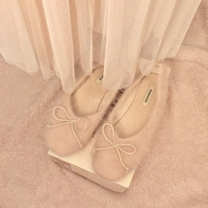 alpaca ballet shoes