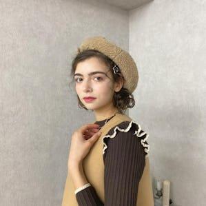 プードルベレー帽