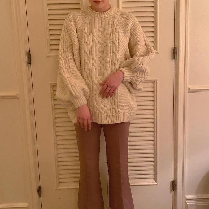 volume yuru knit