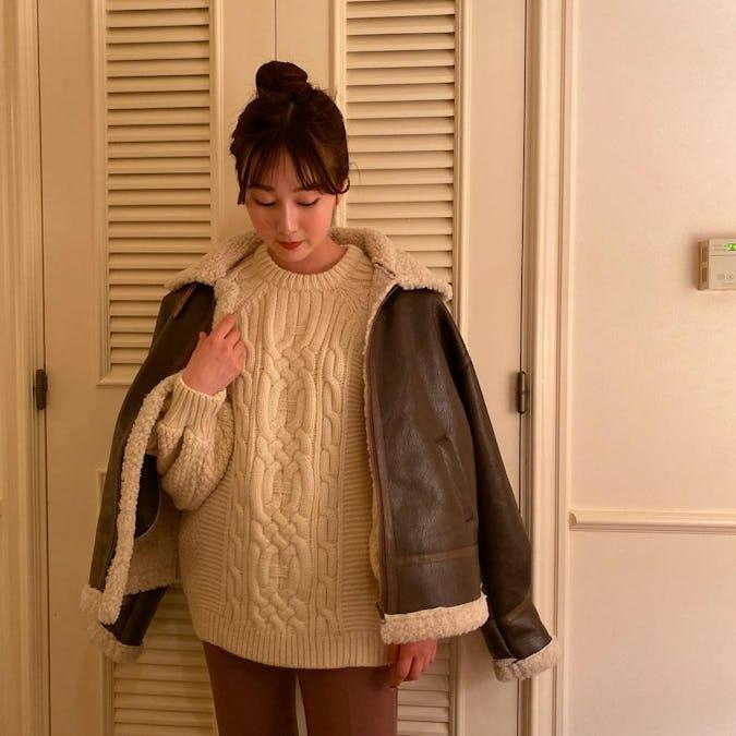 【1/17~順次発送】leather moko jacket