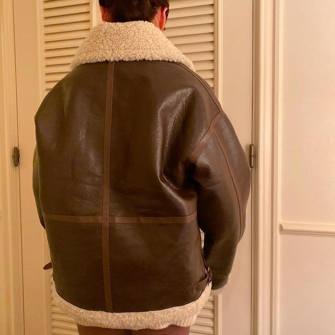 レザーモコジャケット
