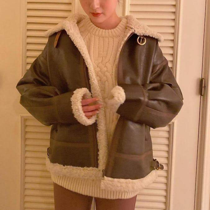 【1/17~順次発送】leather moko jacket-0