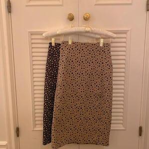 dalmatian knit skirt