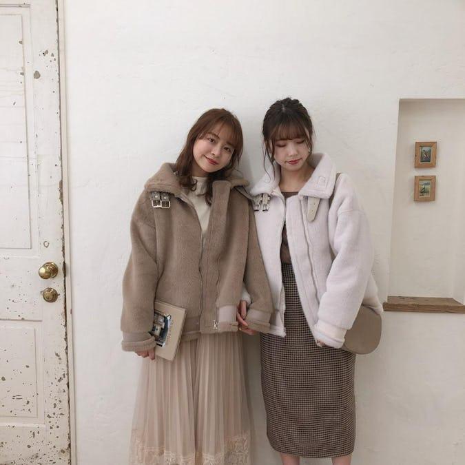 fur mustan coat