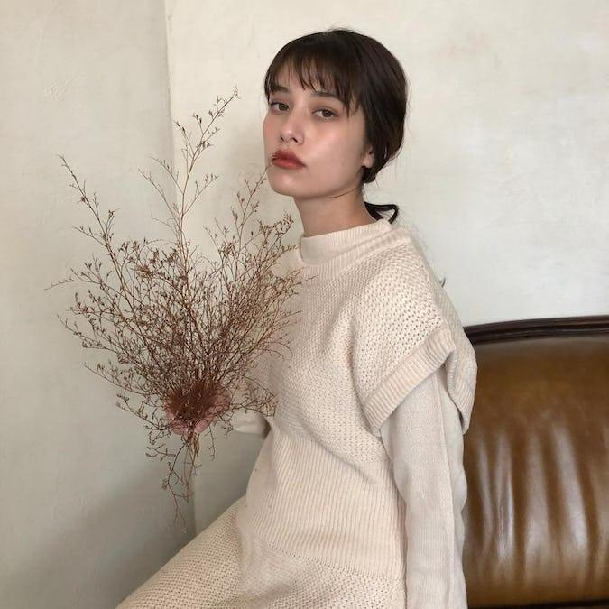 reve original knit onepiece set-0