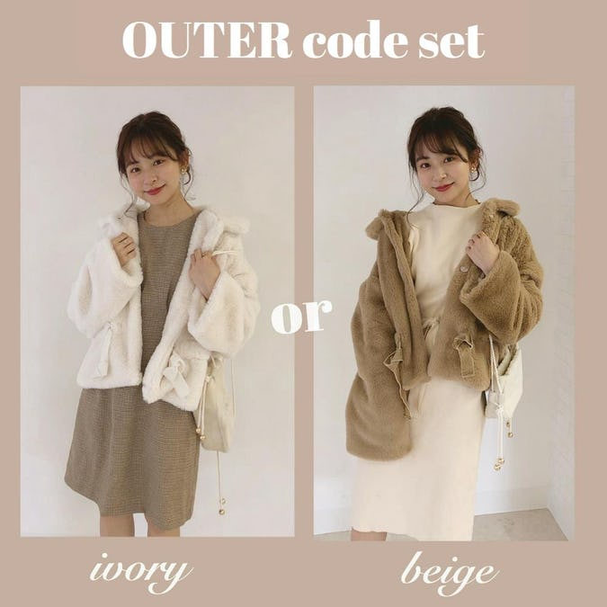 OUTER code set《fur coat ver》-0