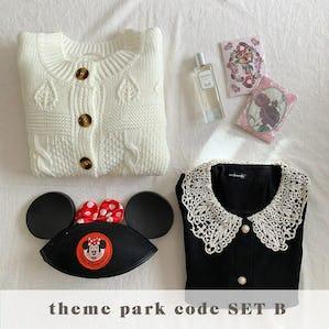 theme park code SET B