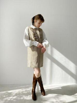 montblanc shirt&onepiece set