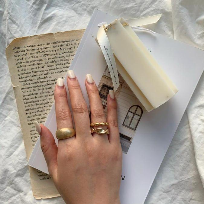- simple series -Lilium ring set