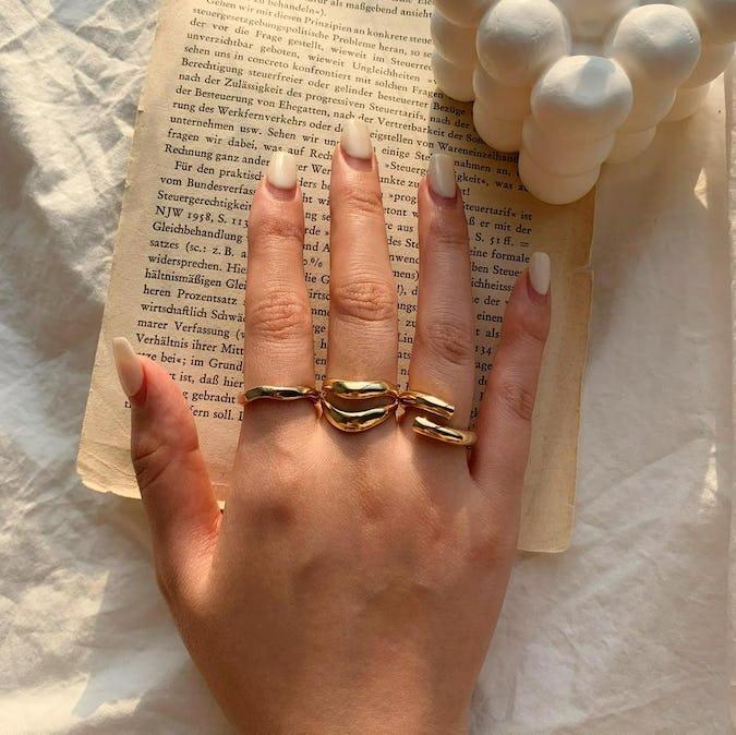 - simple series - Ipomoea nil ring set