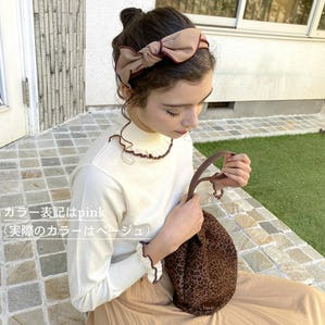 feminine ribbon headband