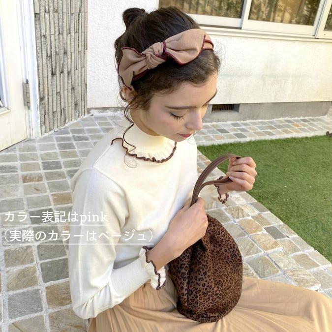 feminine ribbon headband-0