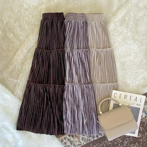 tiered pleat sk
