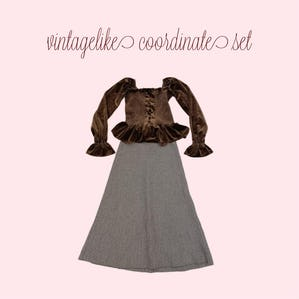 vintagelike coordinate set