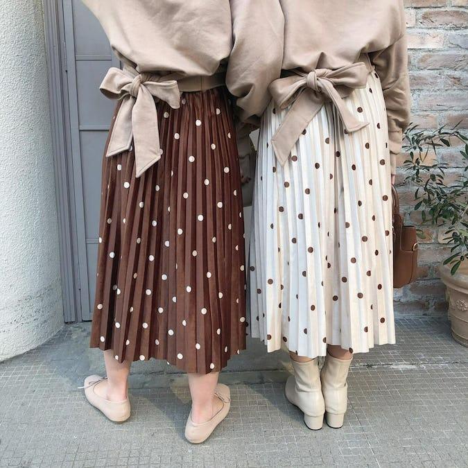 ラテドットスカート