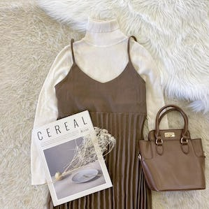 simple pleats cami op set