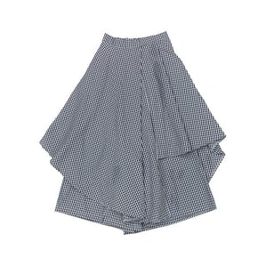 チェックランダム スカート