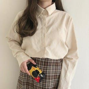 レトロガーリーシャツ