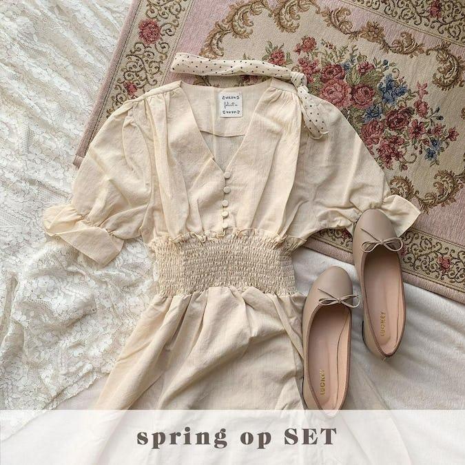 春のモテ♡ワンピースセット-0