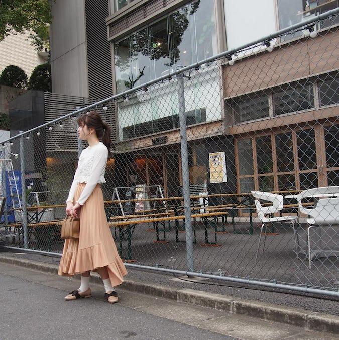 【felicità】ローズペプラムサーマルビスチェ
