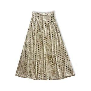 ベルベットドットスカート