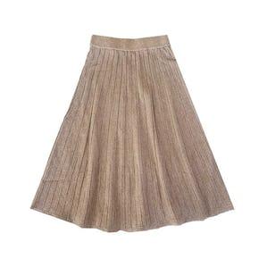 キラキラニットスカート