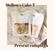 mellowneon Tシャツプレゼントキャンペーン♡