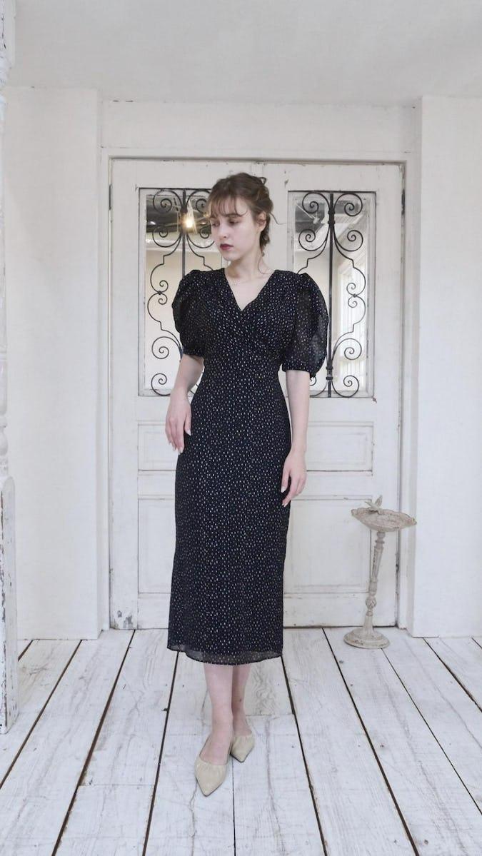 Glitter Gerbera dress