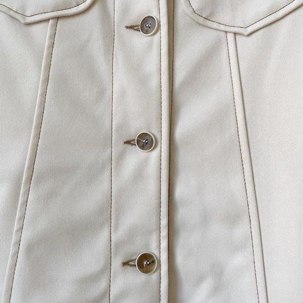 ステッチボタンスカートの画像8枚目