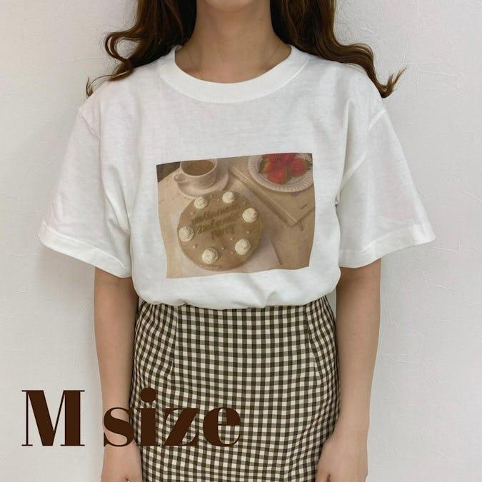 mellow's ケーキTシャツ