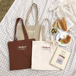 mellow's ラテトートバッグ