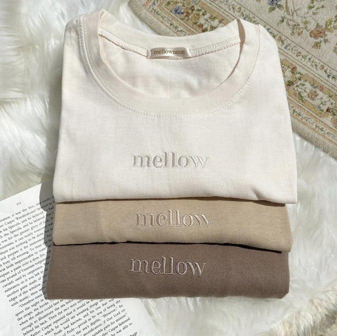mellow's ラテTシャツ-0