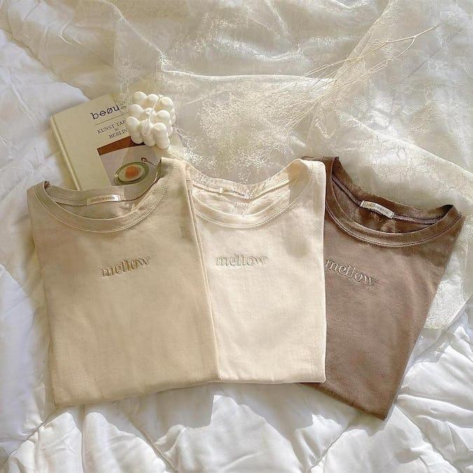 mellow's ラテTシャツ