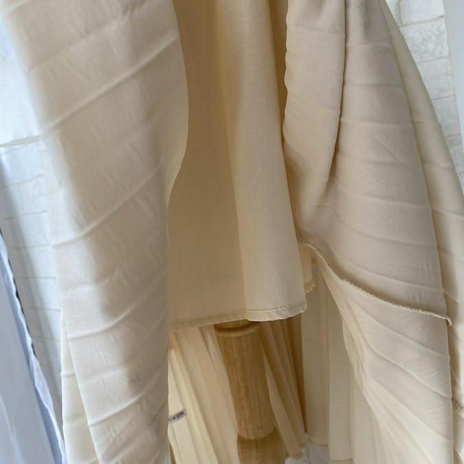 イレヘムレイヤードプリーツスカート