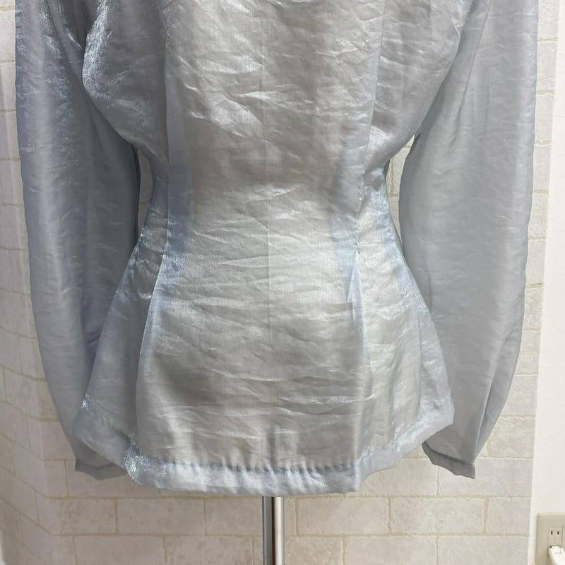シェルボタンシアーシャツの画像42枚目
