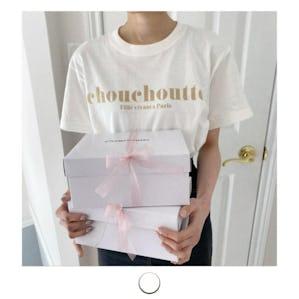 chouchoutte ロゴTシャツ