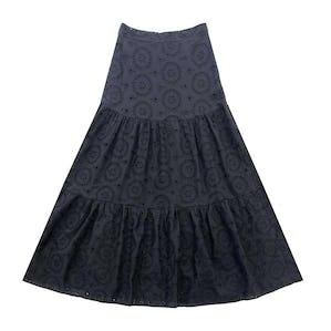 パンチングロングスカート