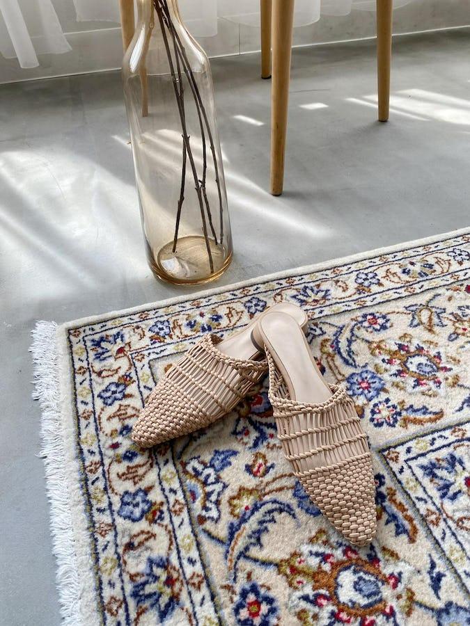 raffia flat sandal-0