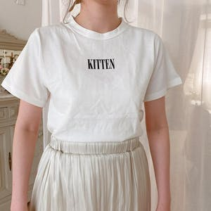 glitter tee   (white/mint)